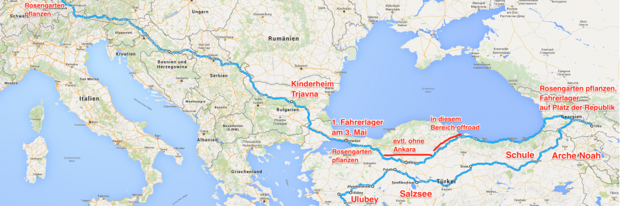 Route Europa