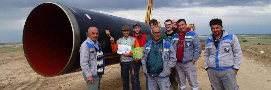 Die Pipeline, eine Kinderhorde und erbärmliche Zeltstädte